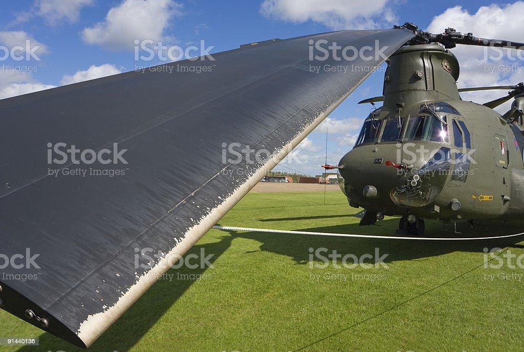 Boeing CH-47 Chinook stock photo