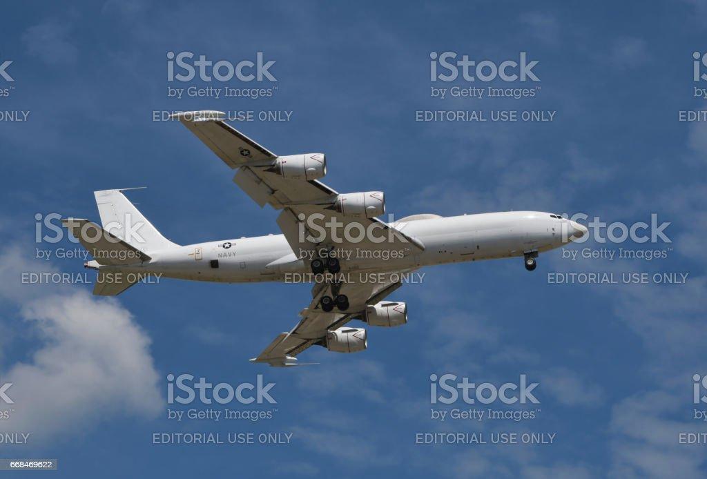 Boeing E-6 Mercury stock photo