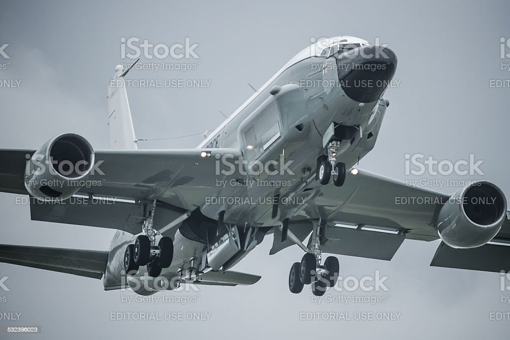 Boeing RC-135 Airseeker / 'Rivet Joint' military aircraft stock photo