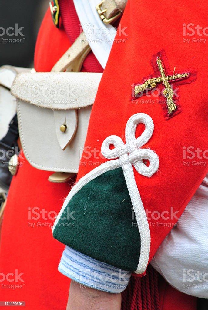 Boer War Era - Army Rifles Uniform royalty-free stock photo