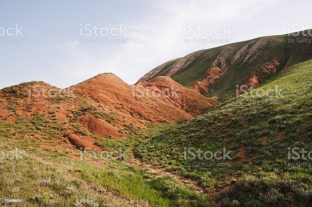 Bogdo Mountain. royalty-free stock photo