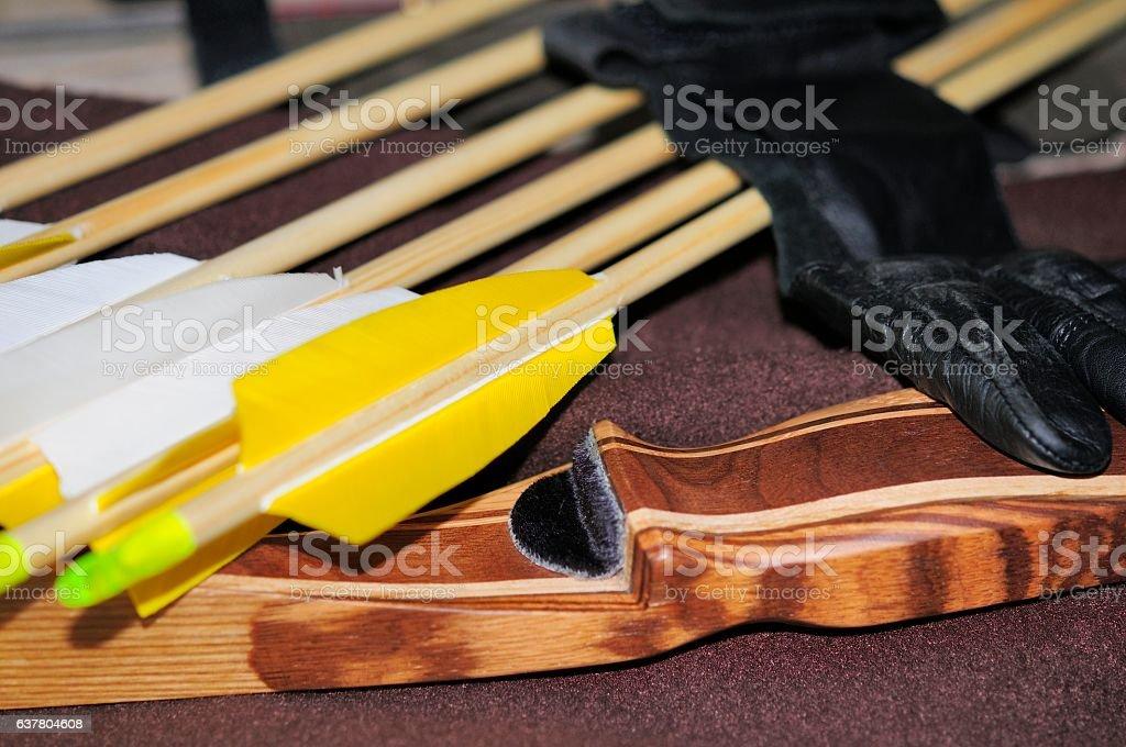 Bogensport stock photo