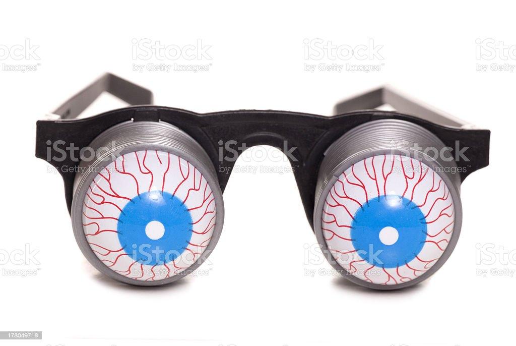 boggled eyed glasses stock photo
