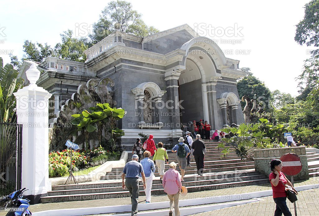 Bogor Botanical Gardens, Indonesia stock photo