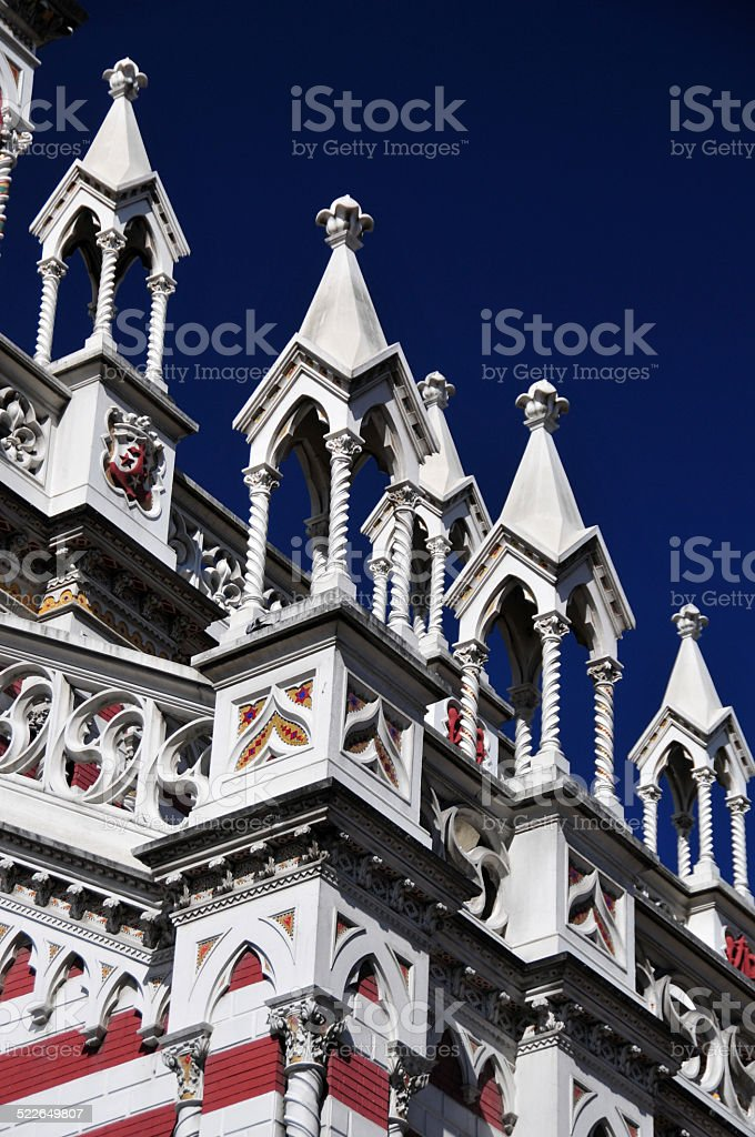 Bogot?, Colombia: Church of Our Lady of Mount Carmel stock photo