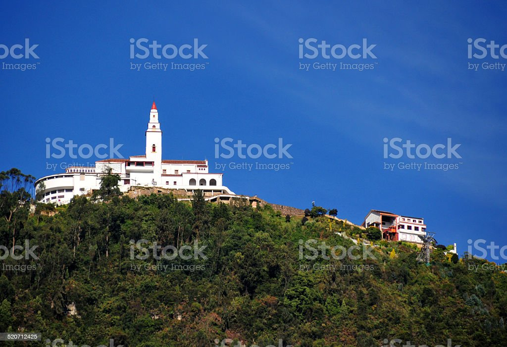 Bogot?, Colombia: Monserrate Hill stock photo