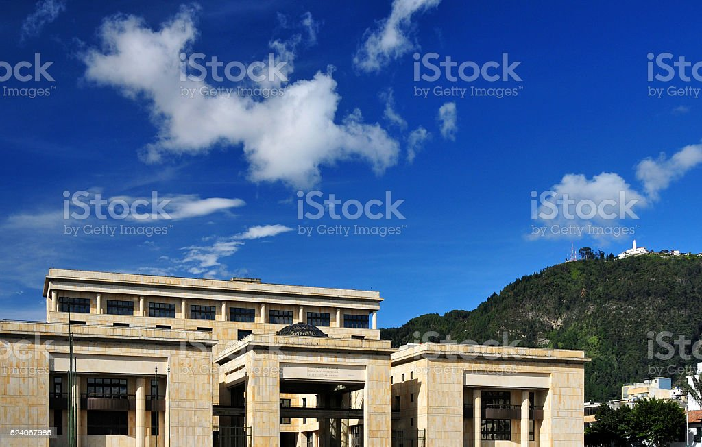 Bogot?, Colombia:Palace of Justice stock photo
