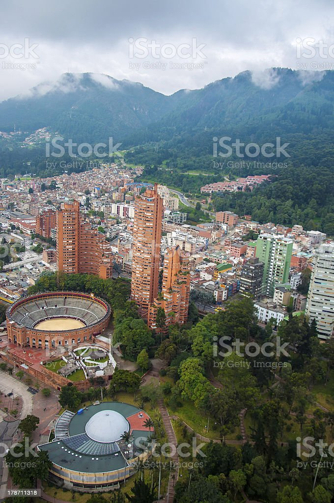 Bogota Center stock photo