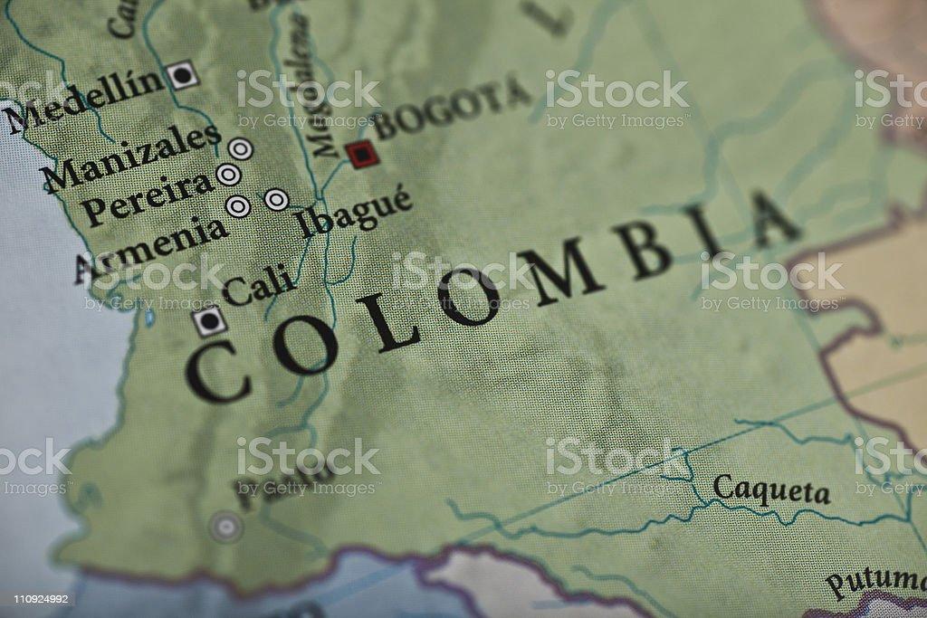 Bogota, Colombia royalty-free stock photo