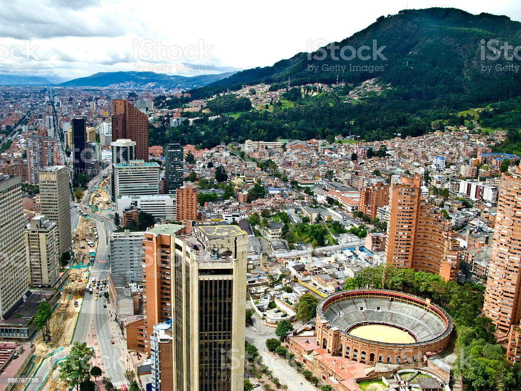 Bogota, Colombia stock photo