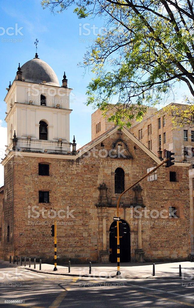 Bogota, Colombia: San Agust?n church stock photo