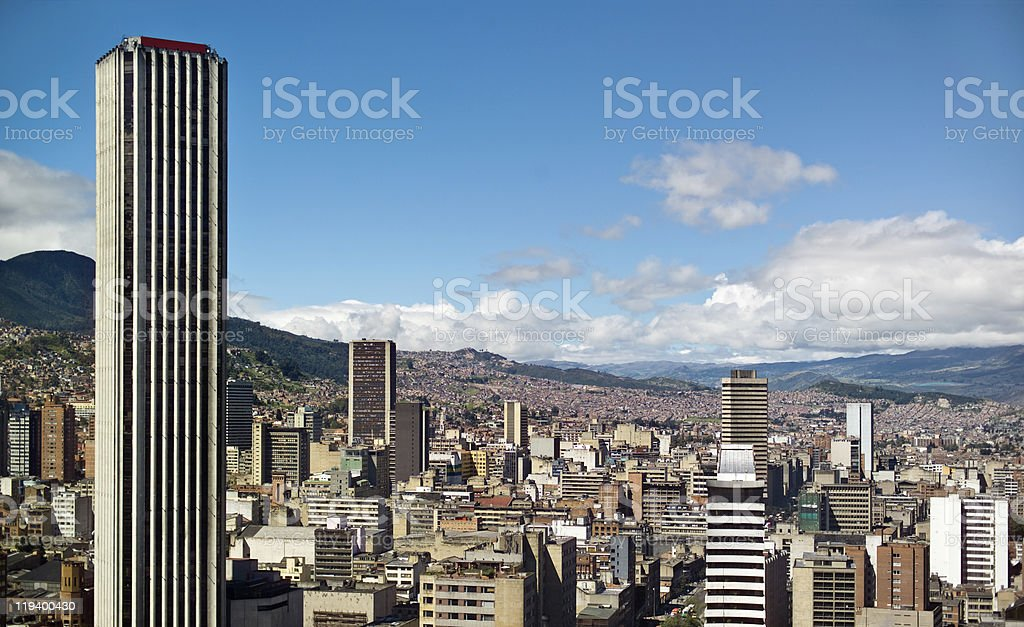 Bogota royalty-free stock photo