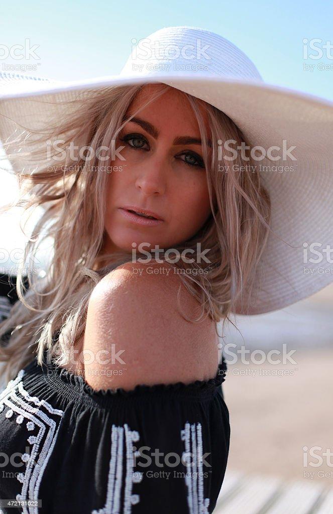 Bohemian fashion stock photo