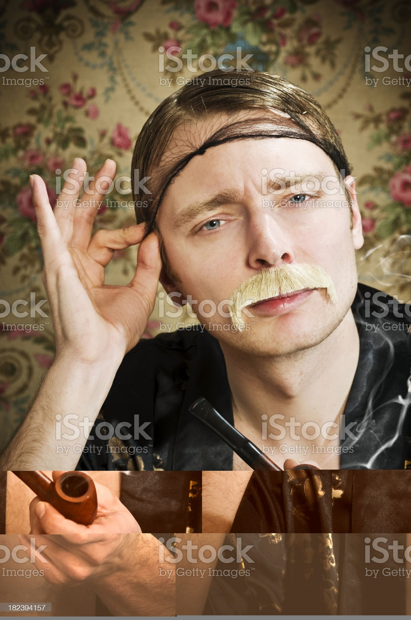 bohemian sir royalty-free stock photo