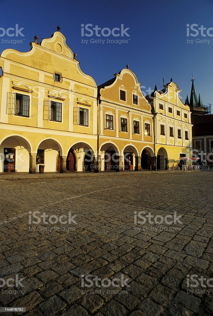 Bohemian village royalty-free stock photo