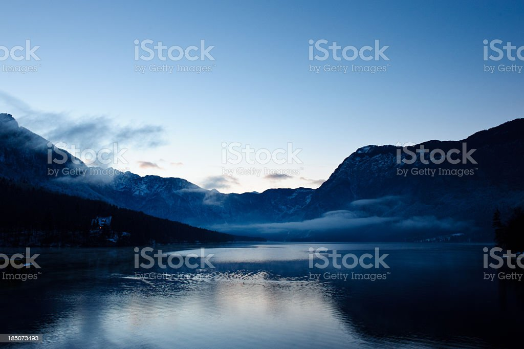 Bohinj Lake royalty-free stock photo