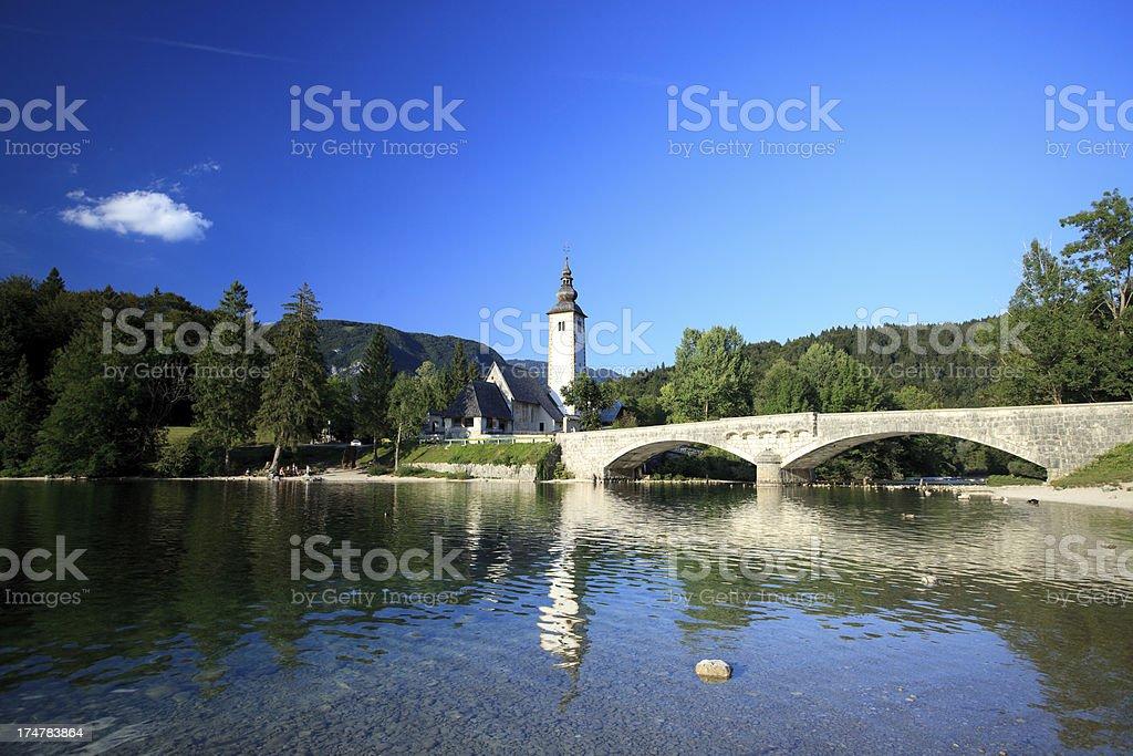 Bohinj, Slovenia royalty-free stock photo