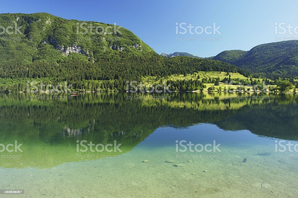 Bohinj, Slovenia stock photo