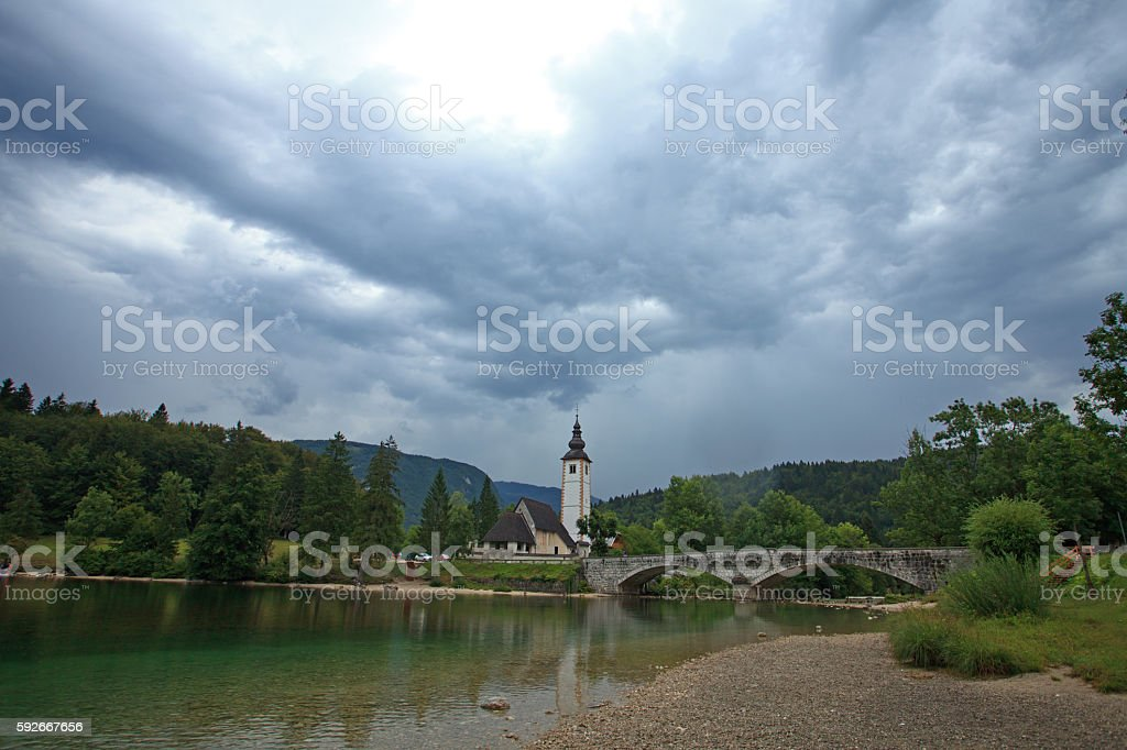 Bohinj, Slovenia stock photo