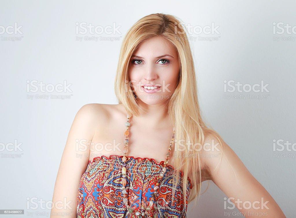 boho fashion style stock photo