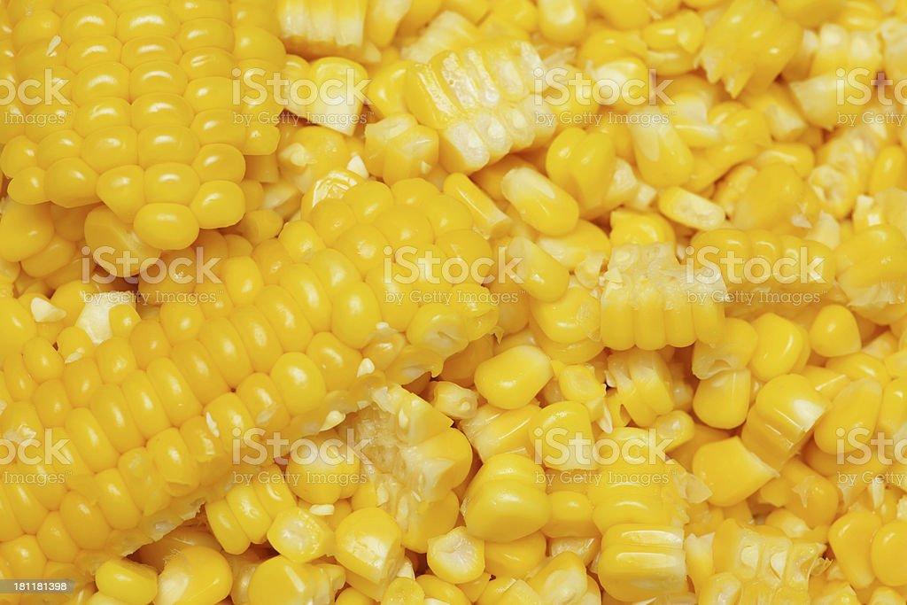 Boiled Corn royalty-free stock photo