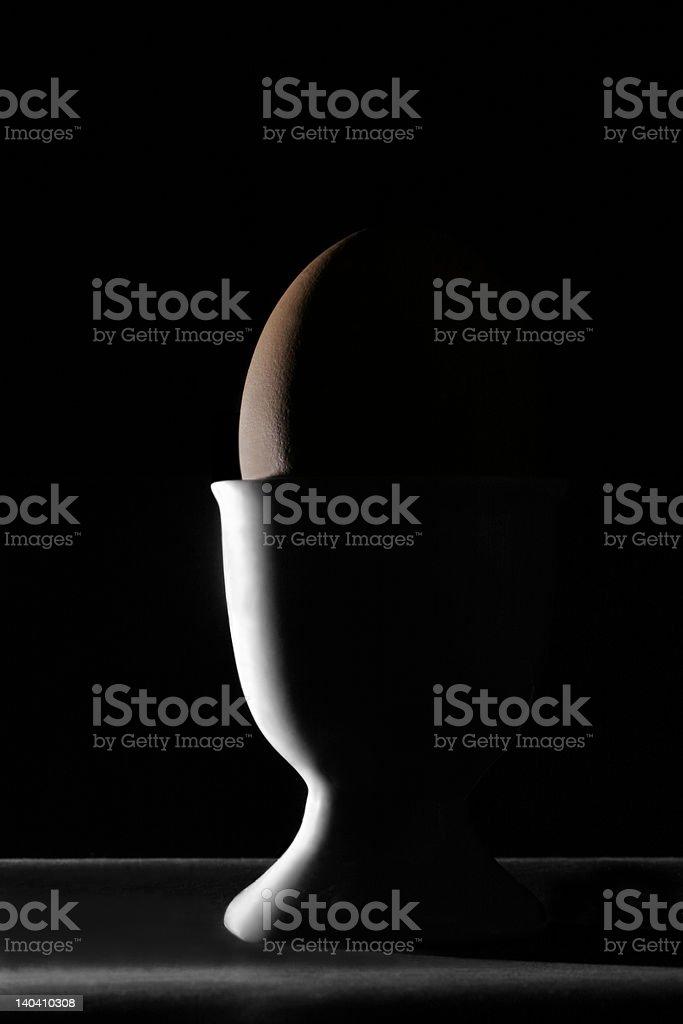 Boiled egg royalty-free stock photo