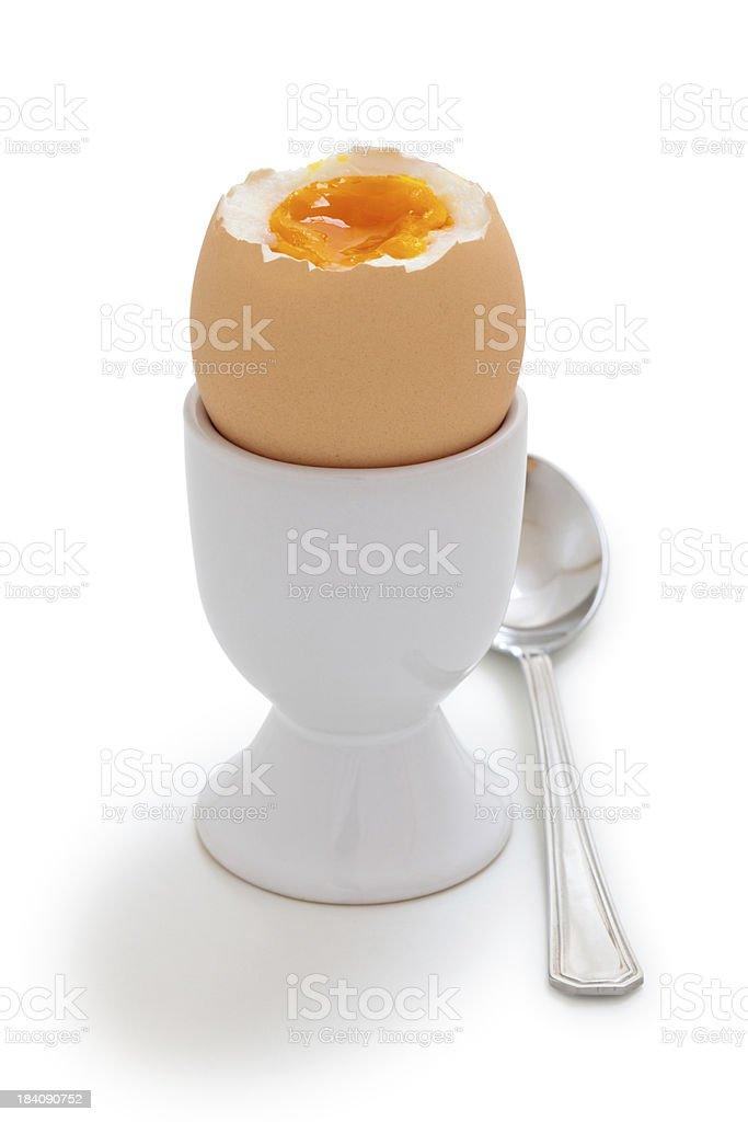 Boiled Egg. royalty-free stock photo