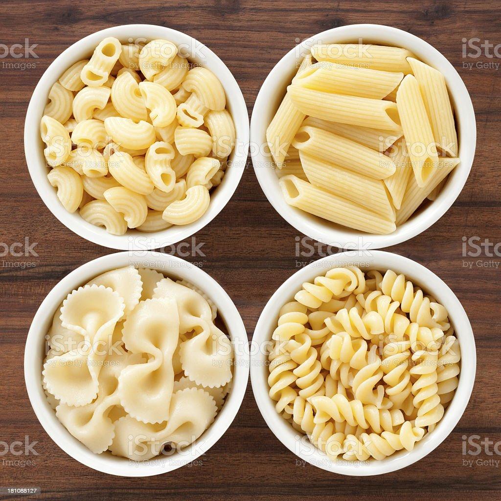 Boiled pasta royalty-free stock photo