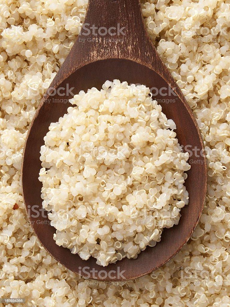 Boiled quinoa stock photo