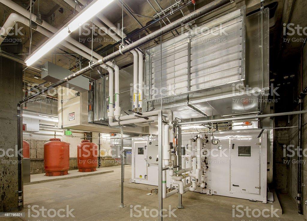 Boiler Installation stock photo