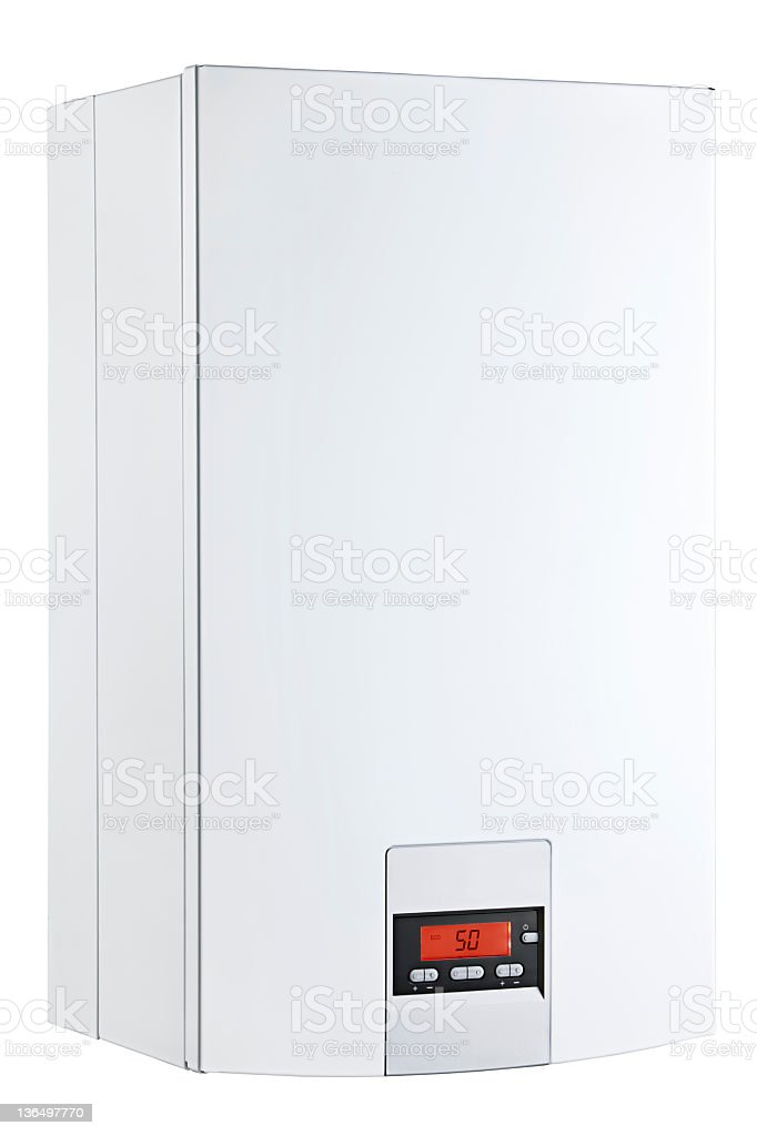 boiler isolated on a white background royalty-free stock photo