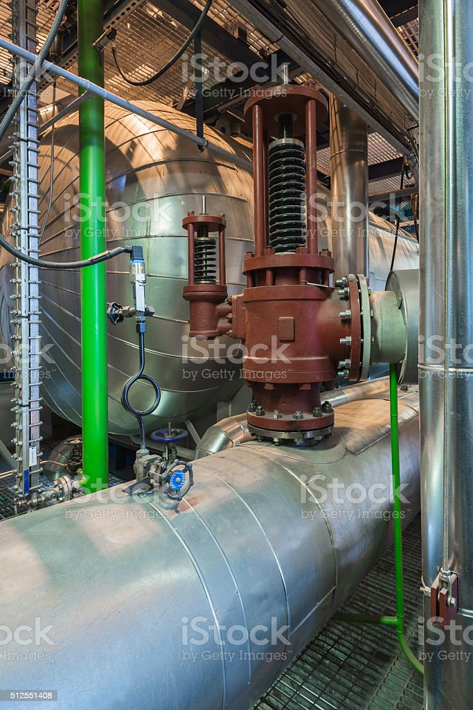 Boiler stock photo