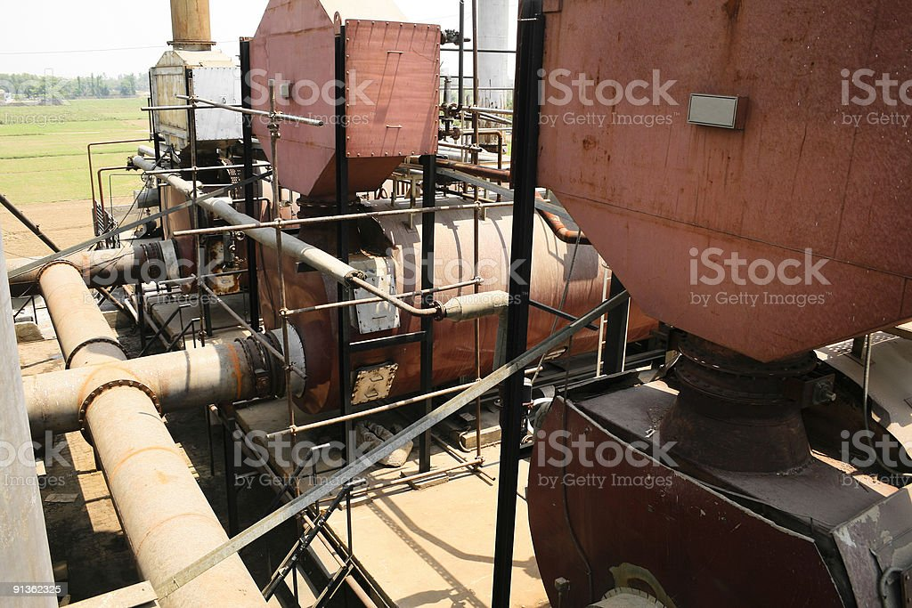 Boiler royalty-free stock photo