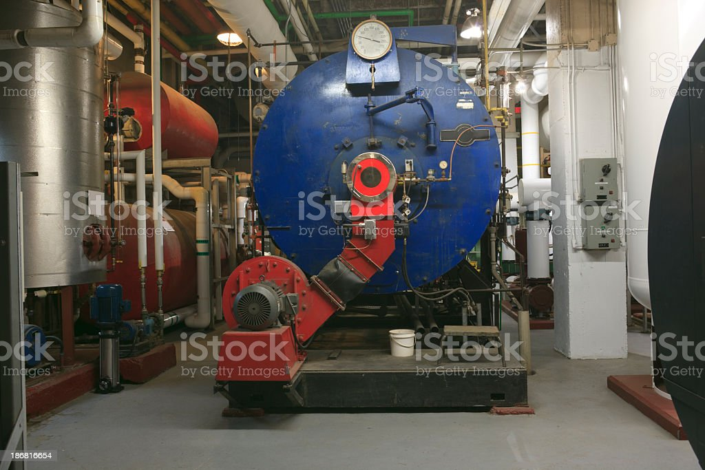 Boiler Room - Machine royalty-free stock photo