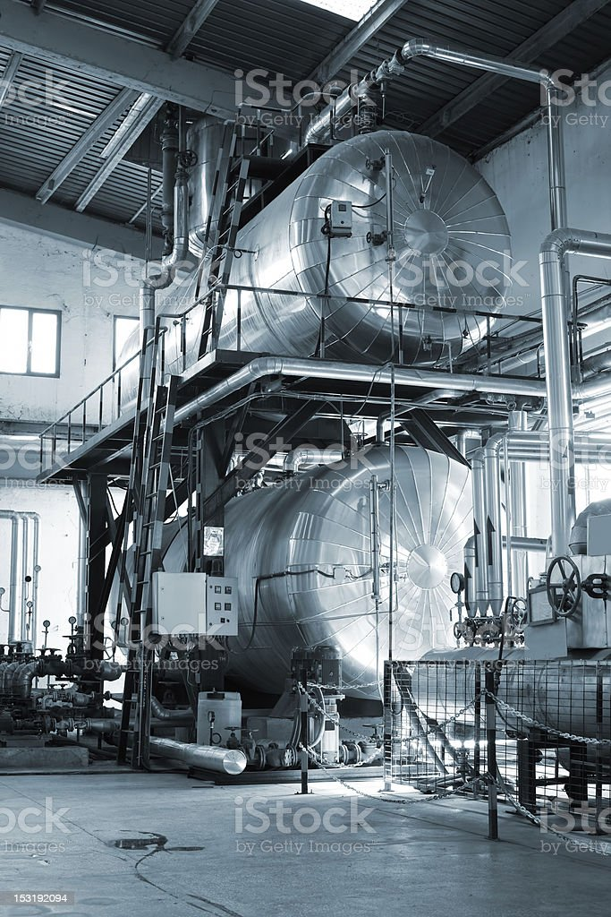 Boilers royalty-free stock photo