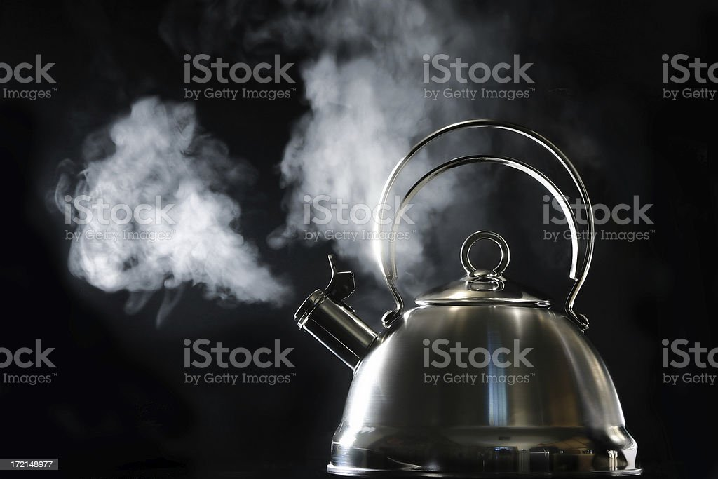 Boiling over royalty-free stock photo