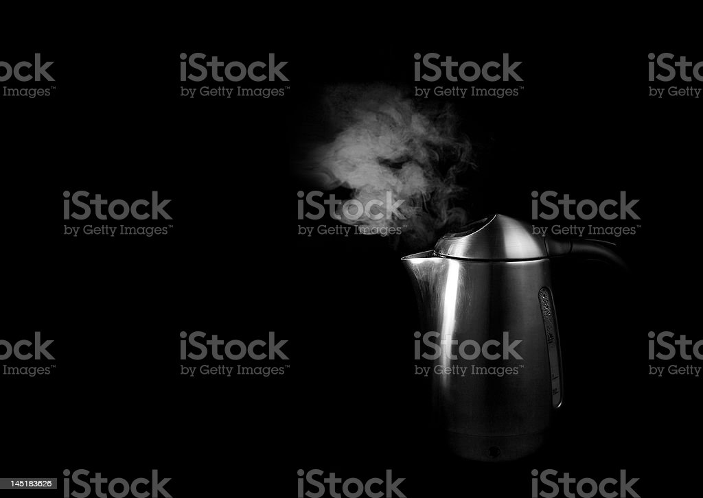 boiling water royalty-free stock photo