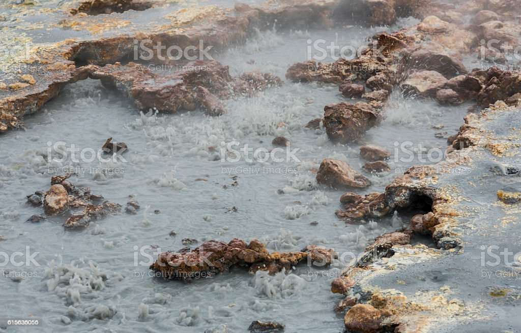 Boiling Water Spring stock photo