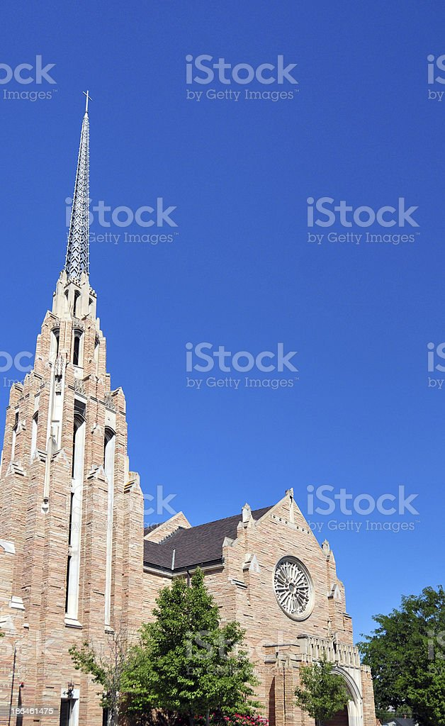 Boise, Idaho: Cathedral of the Rockies stock photo