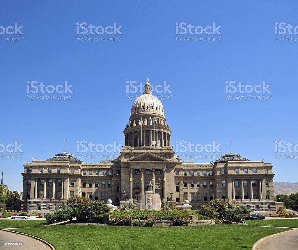 Boise, Idaho: State Capitol stock photo