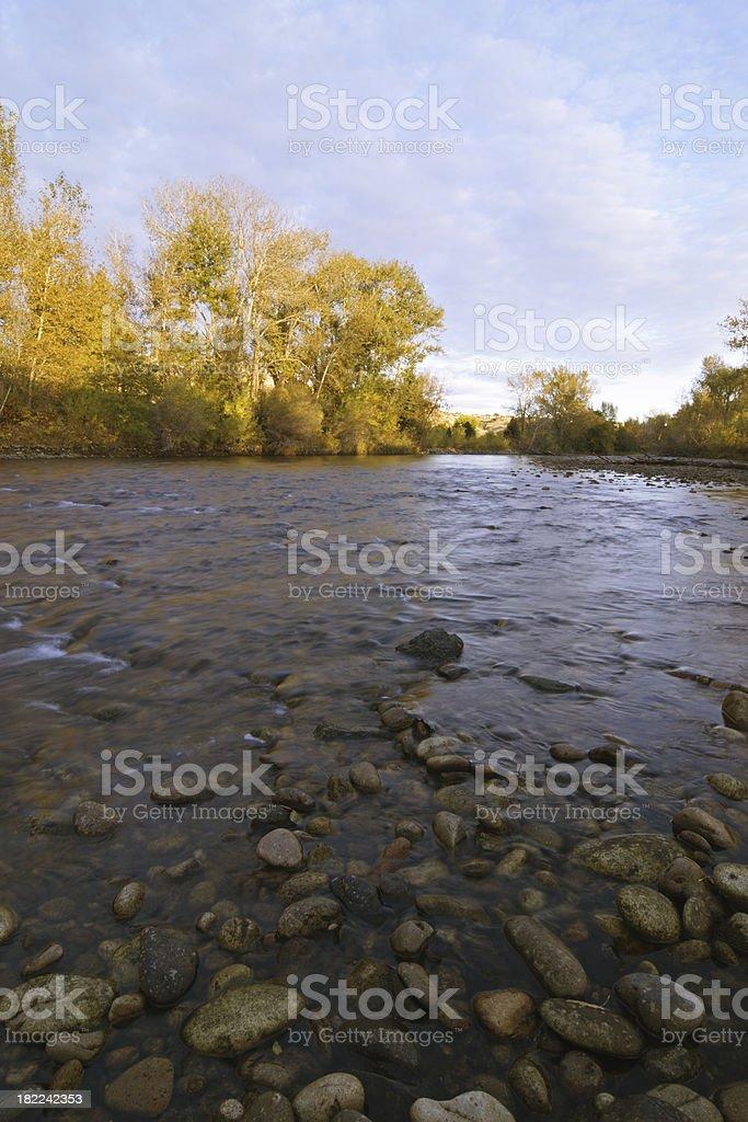 Boise River stock photo