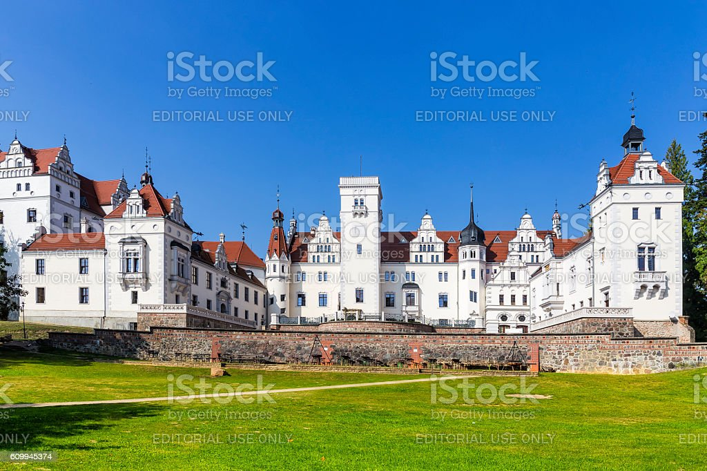 Boitzenburg Castle, Germany stock photo