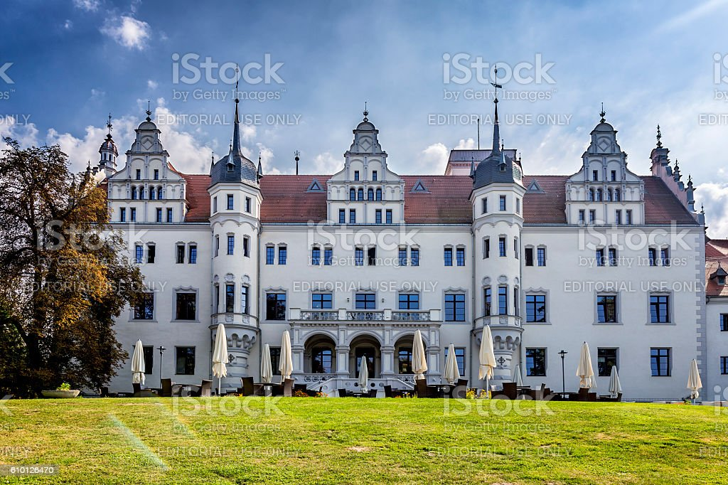 Boitzenburg Castle, Germany stock photo