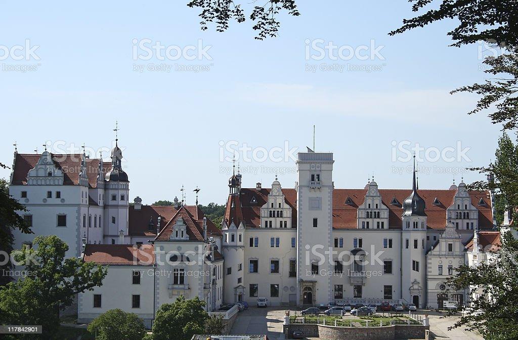 Boitzenburg Castle stock photo