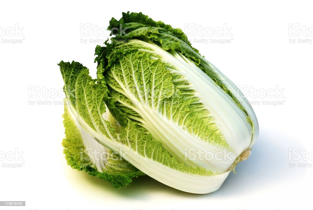 Bok choi raw vegetable royalty-free stock photo