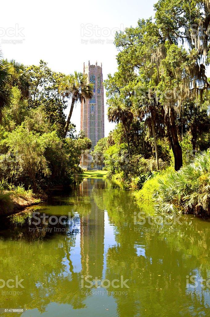 Bok singing tower in Florida USA stock photo