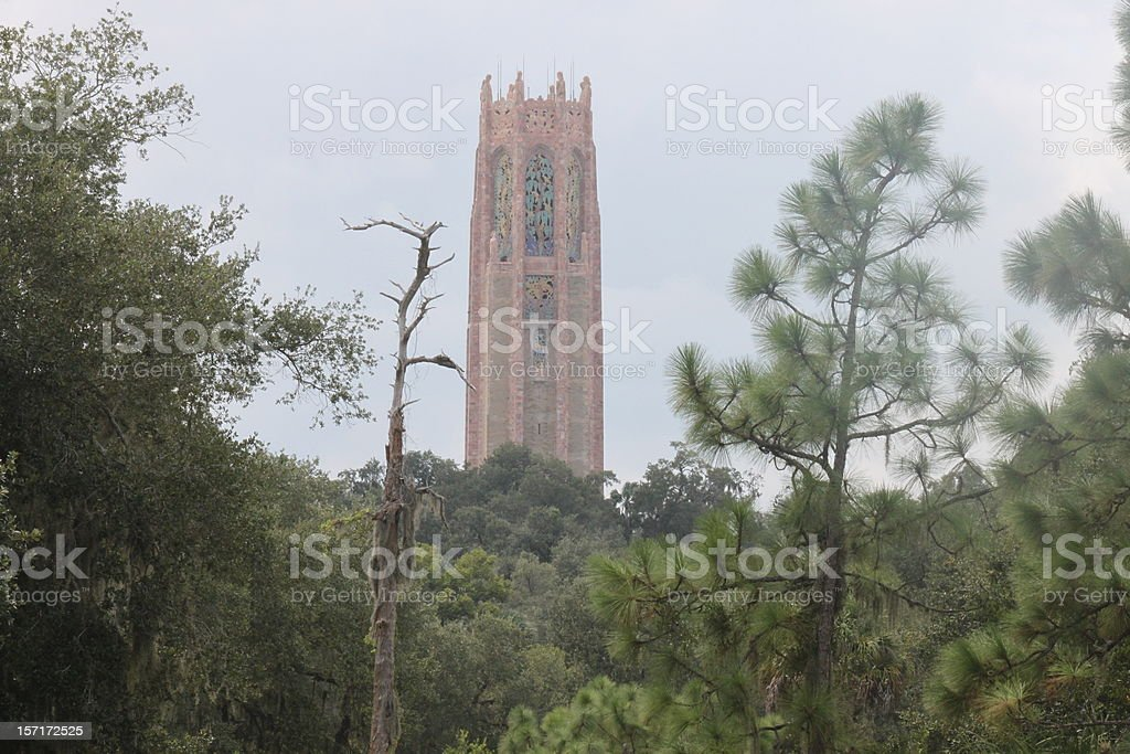 Bok Tower in Lake Wales Florida stock photo