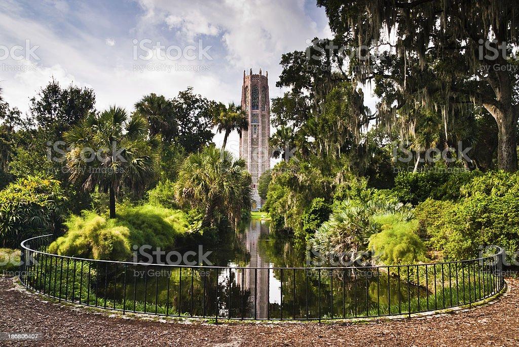 Bok Tower park - Florida landmark stock photo