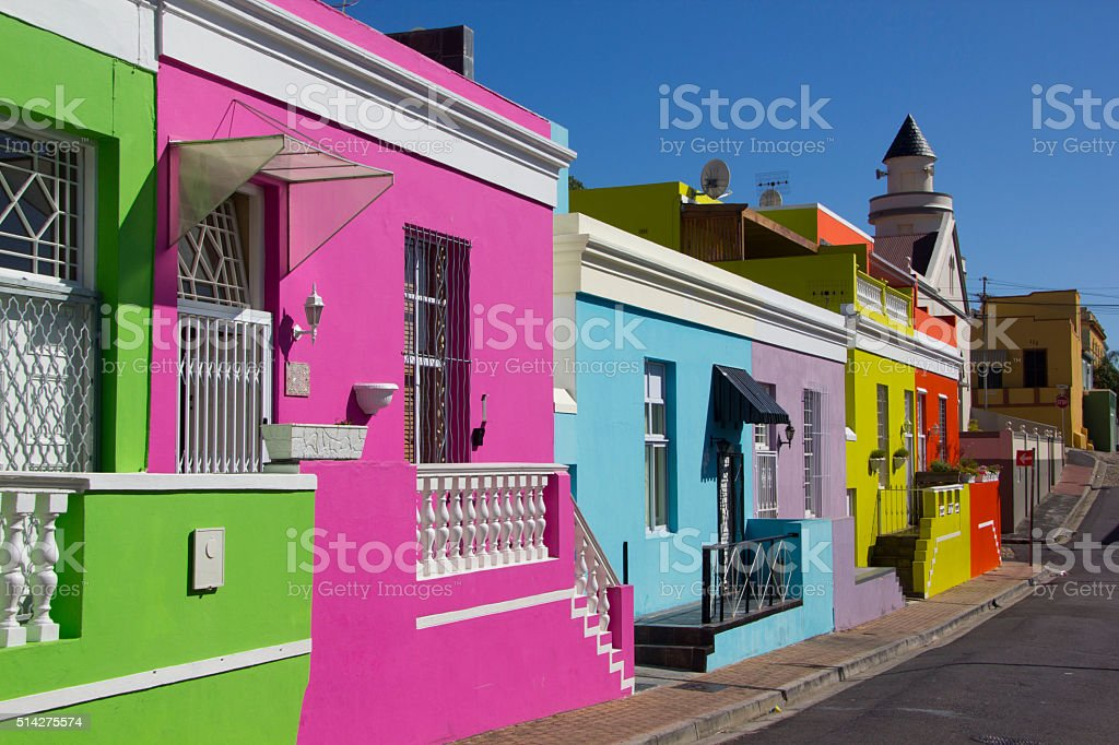 Bo-Kaap stock photo
