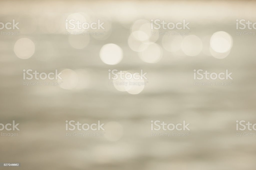 bokeh background from a lake in beige theme stock photo